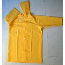 Yj-6029 Kinder Gelb Kleinkind Regenmantel mit Kapuze