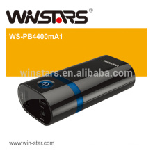 4400mAh power bank, Travelling Backup Battery with LED Torch