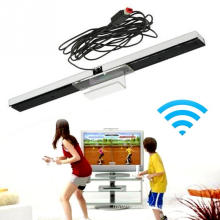 Горячая USB проводной датчики движения приемников ABS Датчик бар ресивер новый для Нинтендо Wii/и wiiu