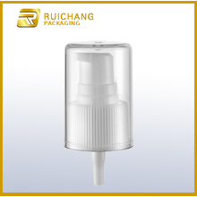 Plastic cosmetic cream pump for bottle