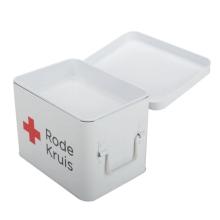 Standard-Haushalts-Erste-Hilfe-Kasten aus Metall