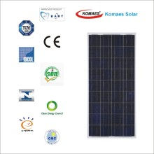 150W Polycrystalline Solar Panel/PV Module with CE/TUV