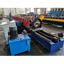 Máquina formadora de rollos verticales para estanterías
