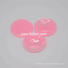 Polyester button with Candy color for Lady′s shirt