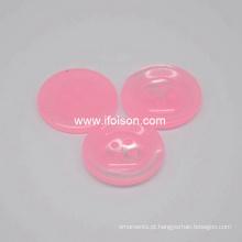 Botão do poliéster com a cor dos doces para Lady′s camisa