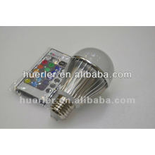 e27 color changing High power 5w rgb led bulb