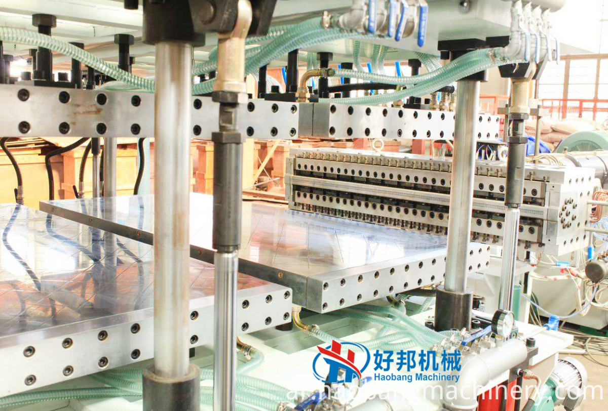 PP hollow sheet machine 2