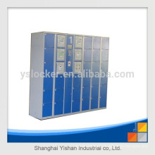 YS LOCKER RFID 7-inch touch screen water park locker/theme park locker/RFID touch screen intelligent locker