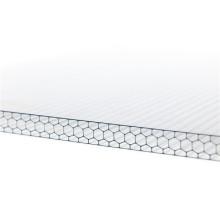 invernadero lexan hoja solar hueca de policarbonato de doble pared