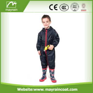 Cheap Customized Polyester Raincoat Rainsuit