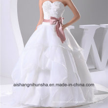 New Arrival Wedding Dress Robe Tulle Lace Beading