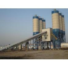 Equipamento móvel de mistura de concreto Planta móvel de lote de concreto