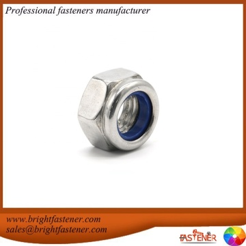 DIN985 Hex Nylon Lock Screw Nut