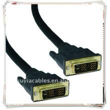DVI-I 24 + 5 Pin Stecker auf Stecker.