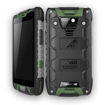 """4.5 """"четырехъядерный прочный IP68 водонепроницаемый Android смартфон"""