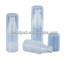 Botella cosmética / botella sin aire / botella de pp