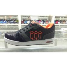 Homens lazer moda mid-cut sapatos de skate sapatos de desporto (ff425-3)