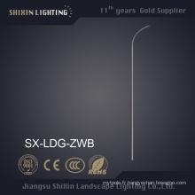 Pylône d'éclairage en acier à bras unique de 6 m