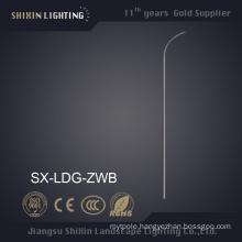 6m Single Arm Steel Street Lighting Pole