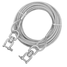 Dog Runner Cable para exteriores