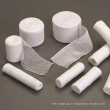 Bandage de gaze 100% coton pur