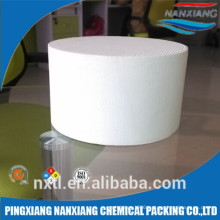 Square ceramic honeycomb carrier for car carriers for sale