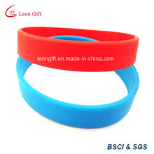 Bracelet silicone blanc pour Logo personnalisé