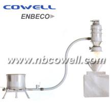 Transportador de vacío para polvo químico