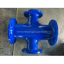 Ductile Iron all flanged cross