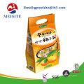 Plastikverpackung Beutel mit fester Milch