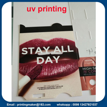 Tanda Plastik dengan Full Color UV Ink Printing