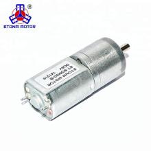 CW / CCW funcionando Motor de engranaje cepillado 12V DC ET-SGM20B usado para la belleza y la aplicación de cuidado de la salud