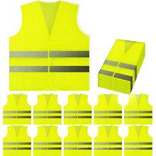 Colete de segurança rodoviária de alta visibilidade