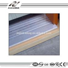 perfil de alumínio decorativo das extrusões para limiares da porta deslizante