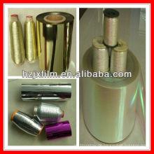 12/16/20/25 mirons VM PET-Folie für metallisches Garn