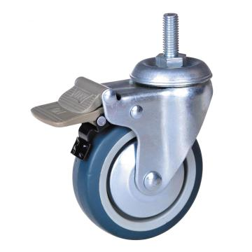 4 tums TPR Swivel Caster