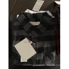 Chemise en coton à rayures homme à la mode