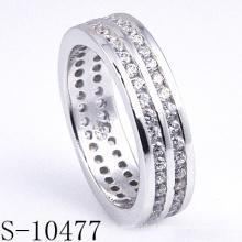 Anéis da jóia da prata esterlina da forma 925 (S-10477. JPG)