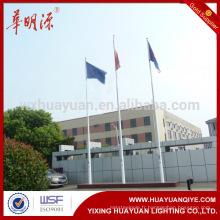 Poteaux de drapeau extérieurs en acier galvanisé