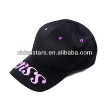 Mode atmungsaktive Baumwolle reflektierende Kappe mit großem Logo
