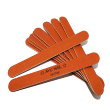 Custom Logo High Quality Brand Salon Beauty Large Size Wood Nail File