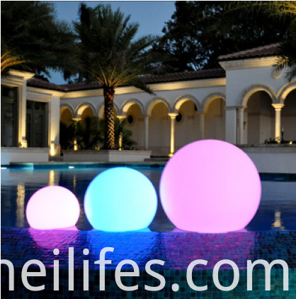 Anti-UV LED ball light