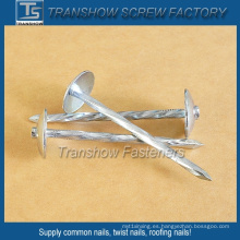 Twisted Shank Umbrella Head Roofing Nails