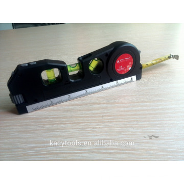 4 in 1 multi-function Laser level with tape measure
