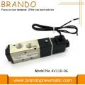 Válvula de Control neumático 4V110-06 conexión plomo de vuelo