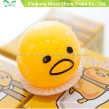 Novedad Sticky Egg Toys Cute Yellow Squeezed Vomiting & Sucking Toys