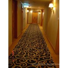Luxury Plain Such as Hotels Corridor of Wool Carpet Mat