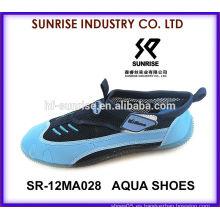 SR-12MA028 La aguamarina calza los zapatos del agua que practica surf los zapatos plásticos de la playa calza los zapatos del agua