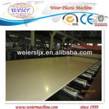 Línea de producción de tablero de espuma WPC
