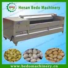 2014 China beste Lieferant Kartoffel Reinigung Schälmaschine / Kartoffel waschen Schälmaschine / Kartoffel Pinsel Waschmaschine 008613253417552